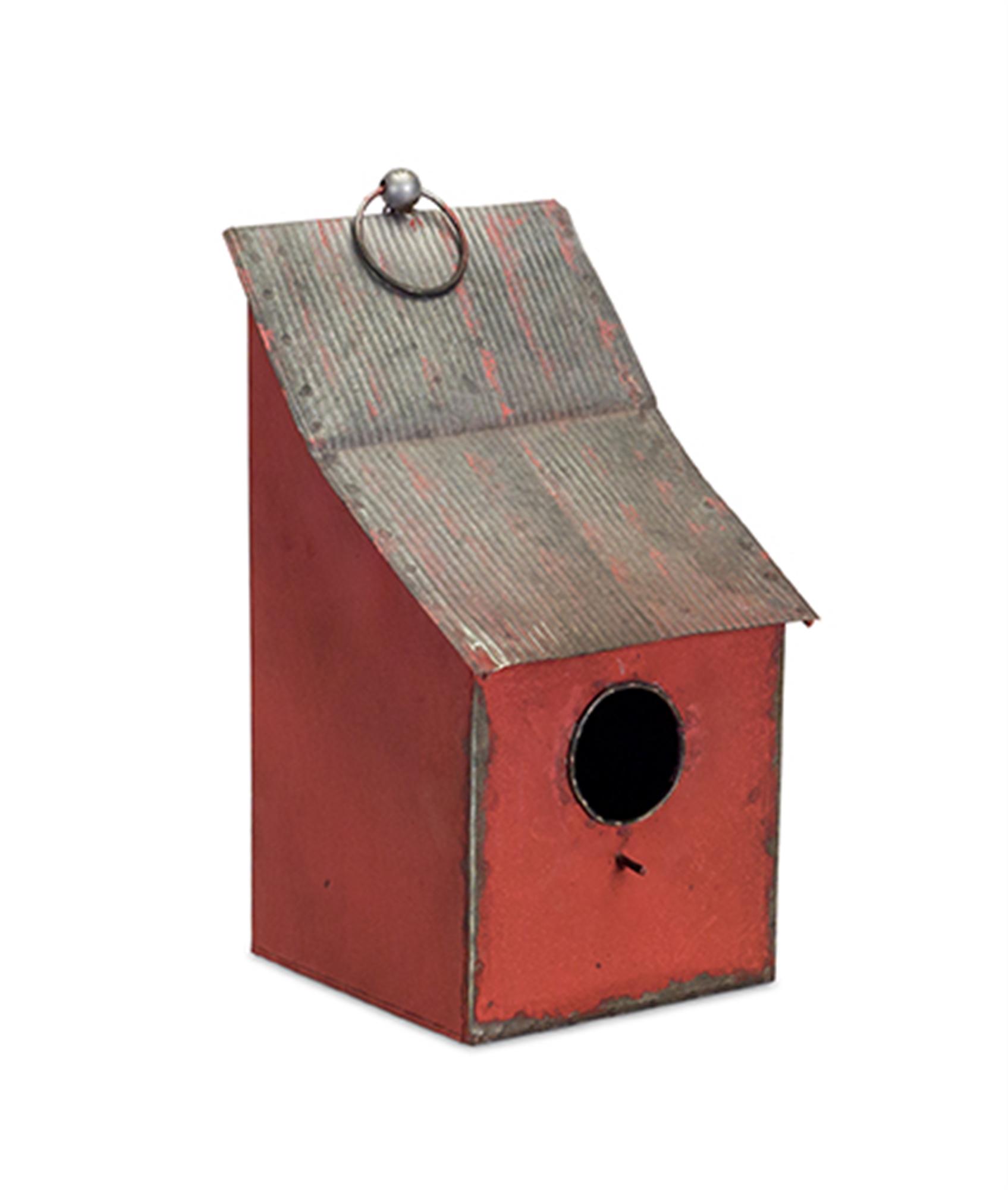"Birdhouse (Set of 2) 17""H Metal"