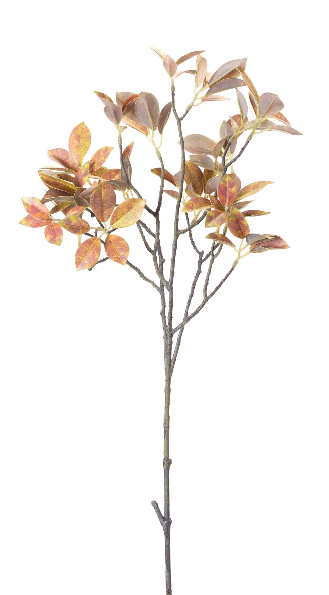 "Fall Leaf Branch (Set of 12) 31.5""H Plastic"