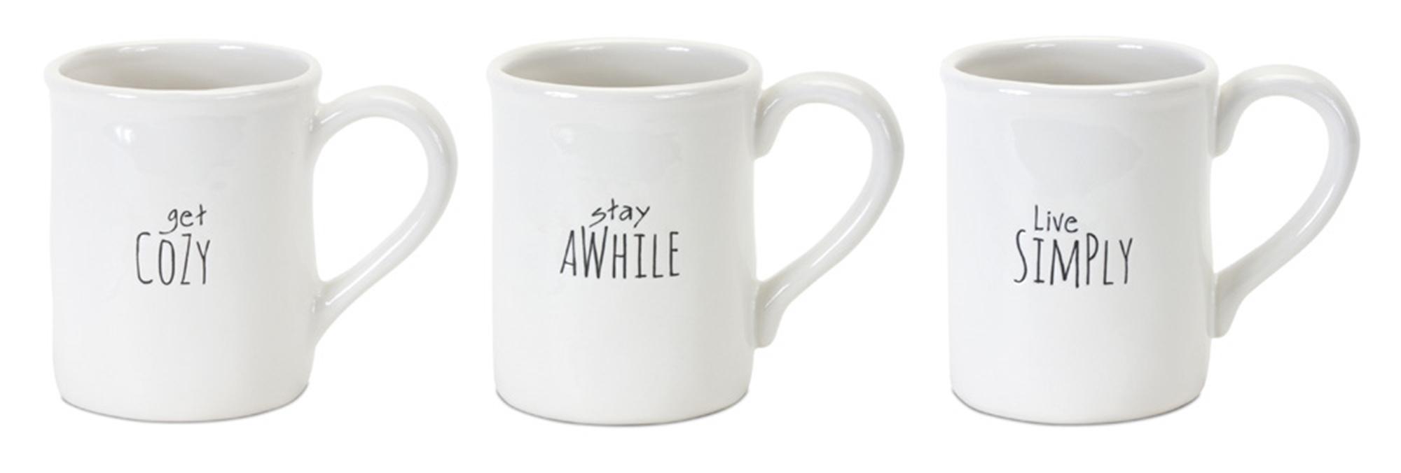 "Mug (Set of 6) 4.75""H Stoneware"