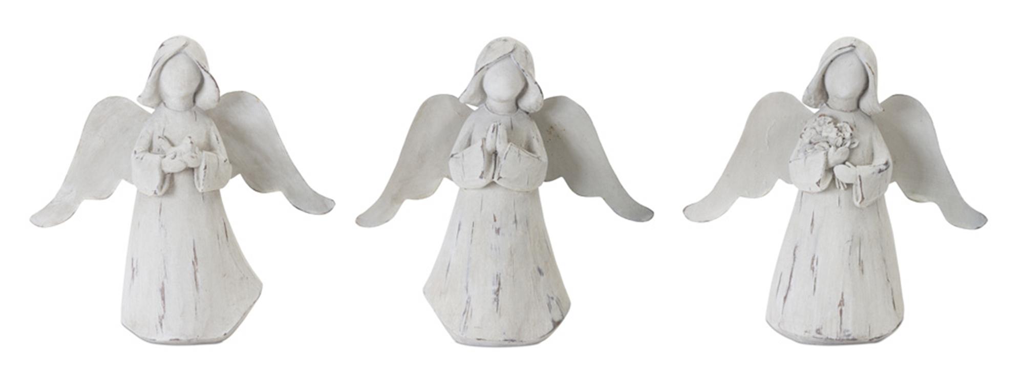 "Angel (Set of 6) 6.25""H Resin"