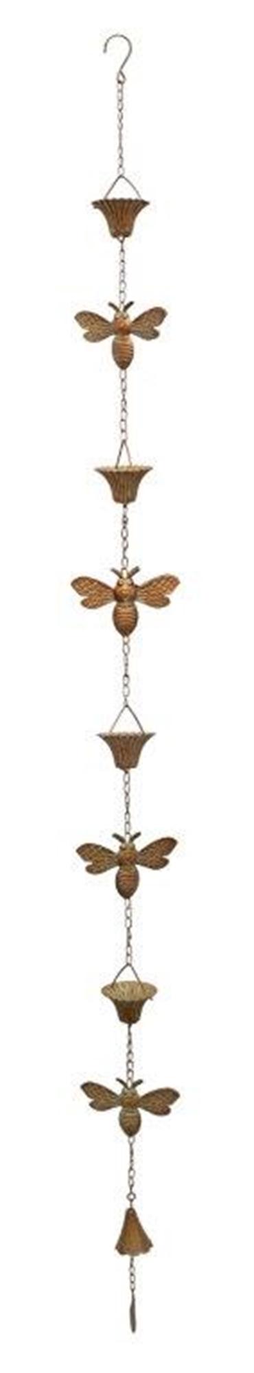 """Bee Rain Chain 66.5""""L Iron"""