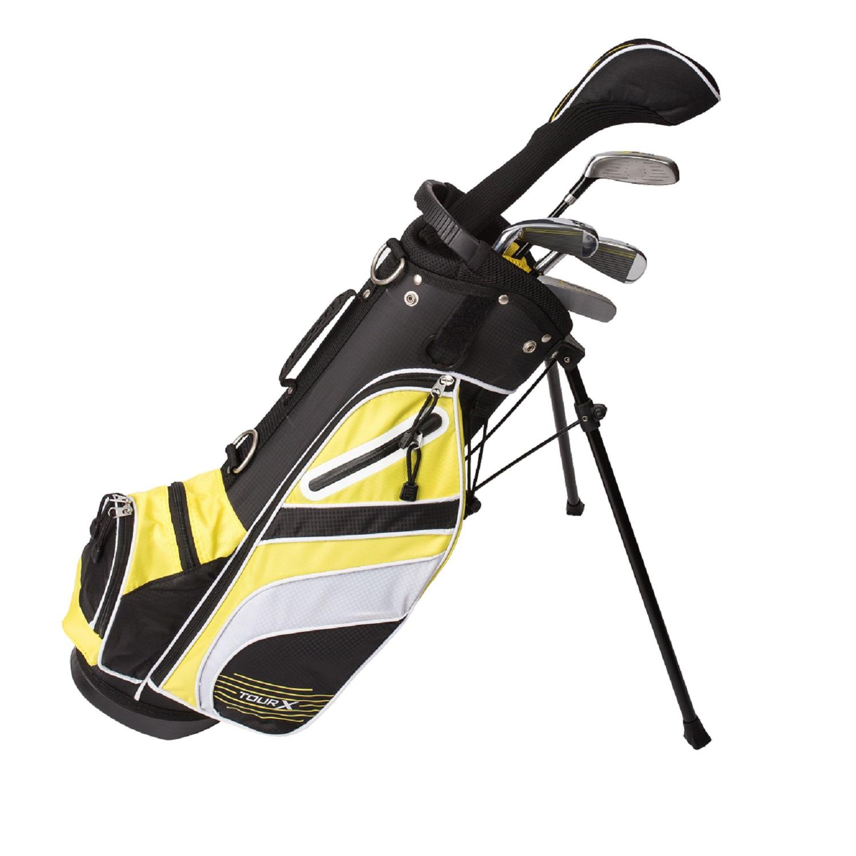 Tour X Size 1 5pc Jr Golf Set w/Stand Bag LH
