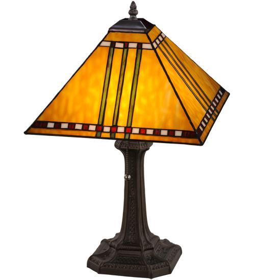 """19""""H Prairie Corn Table Lamp"""