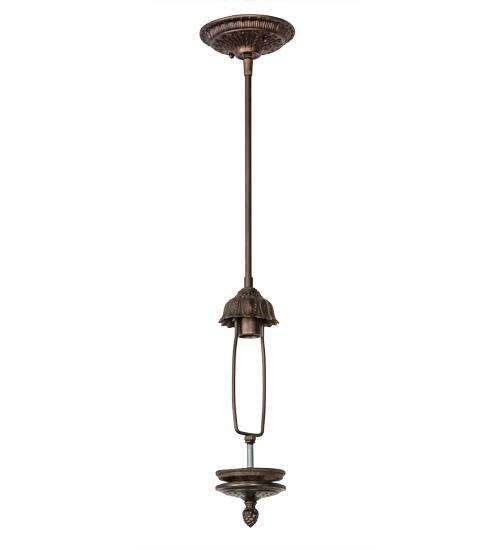 Inverted stem hung hardware