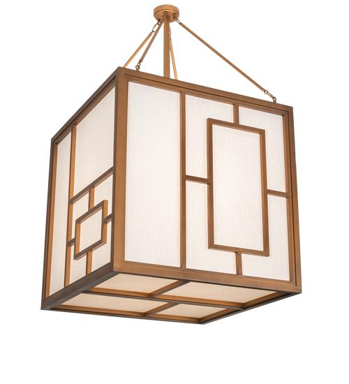 "36"" Square Kofu Pendant"