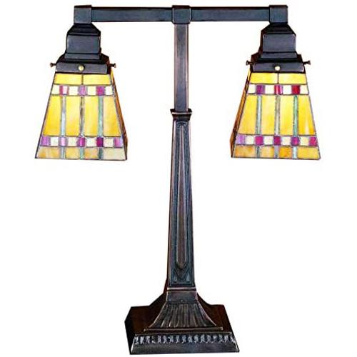 """19.5""""H Prairie Corn 2 Arm Desk Lamp"""