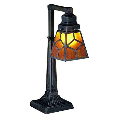 "20"" High Diamond Craftsman Desk Lamp"