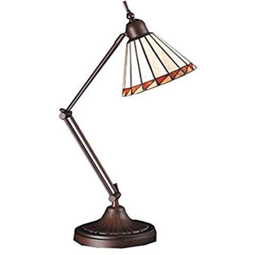 "23""H Prairie Mission Adjustable Desk Lamp"