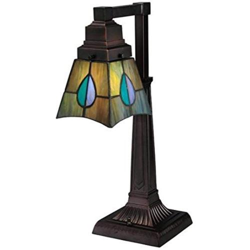 "19.5""H Mackintosh Leaf Desk Lamp"