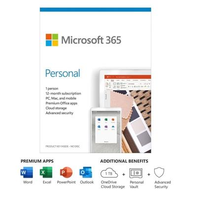 Microsoft 365 Personal Sub 1YR