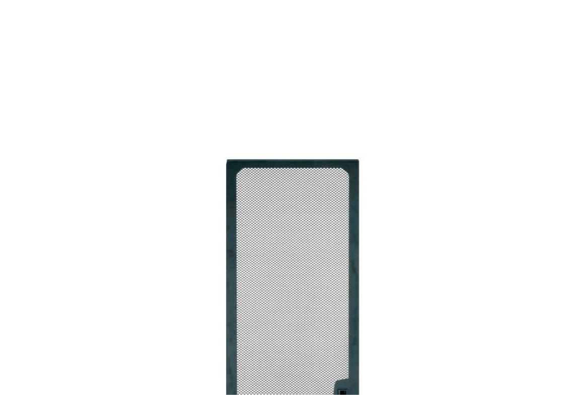 Middle Atlantic LVFD-35 Large Perforated Vented Universal Front Door 35U Black