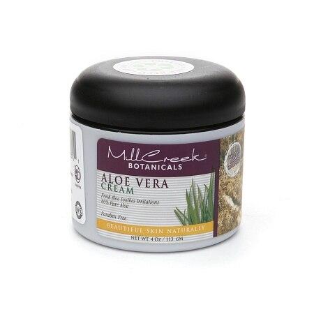 Mill Creek Aloe Vera Cream 4 Oz