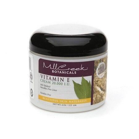 Mill Creek Botanicals Vitamin E Cream 20000 IU 4 Oz