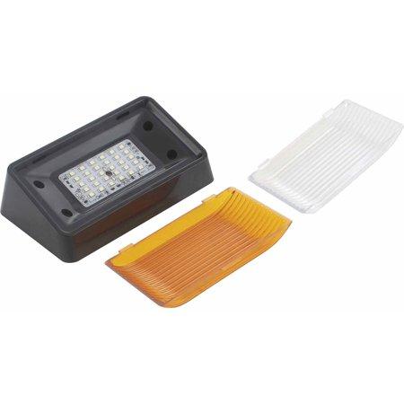 BLACK LED PORCH LIGHT 96-150LUM