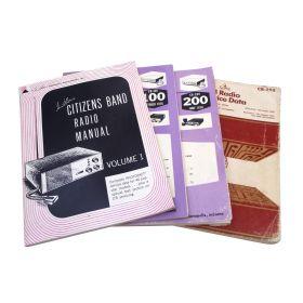 1961- 1981 SAMS PHOTOFACT CB RADIO SERVICE MANUAL BOOKS - VARIOUS VOLUMES TO CHOOSE FROM