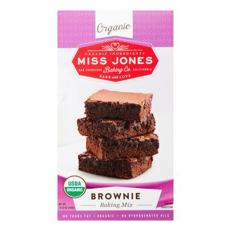 Miss Jones Organic Brownie Baking Mix (6x1467 OZ)