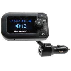 MBS FM TRANSMITTER USB W/XL DISPLAY