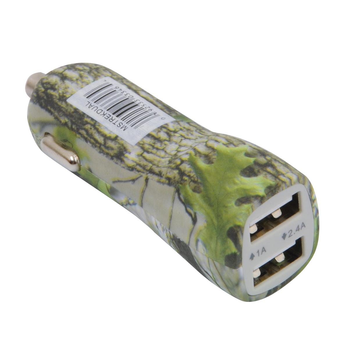 MOBILESPEC TREK 2.4 AMP DUAL USB 20 PC
