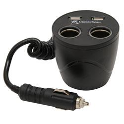 12V Cup Holder Power Outlet