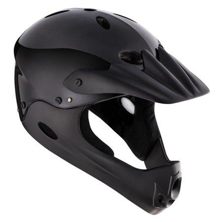 Mongoose Full Face Youth Helmet Black