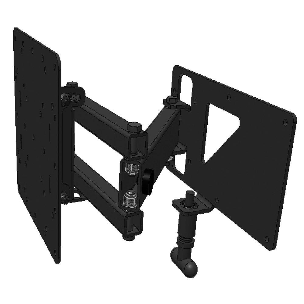 SWING ARM TV BRACKET W/HARDWARE 35#