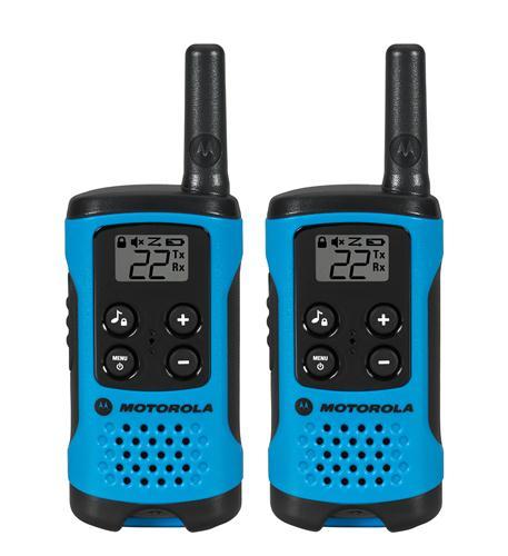 T100 2 Pack 16 Mile Range Blue Radios
