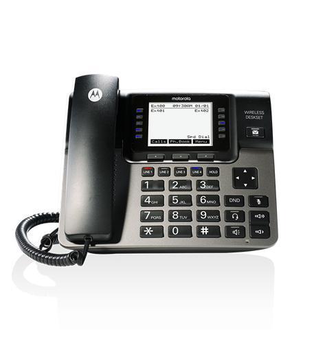 Motorola 4-Line Unison Wireless Desk