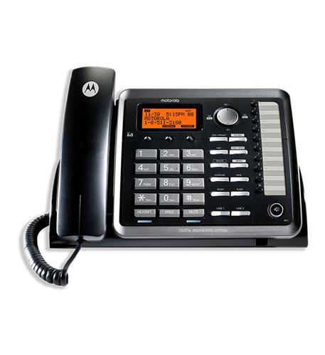 Motorola 2-Line Corded Phone w/ITAD