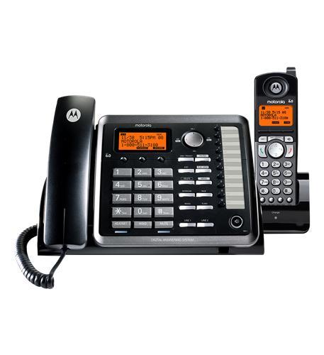 Motorola 2-Line Corded/Cordless DECT 6.0