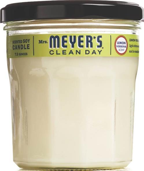 Mrs Meyer's Soy Candle Lemon Verbena (72 Oz Candle)