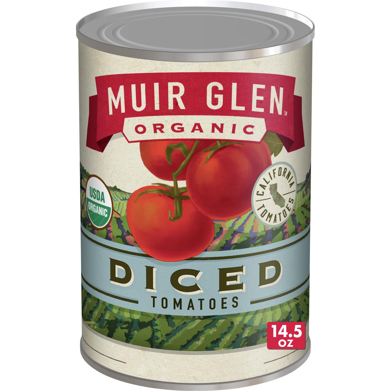 Muir Glen Diced Tomato (12x145 Oz)