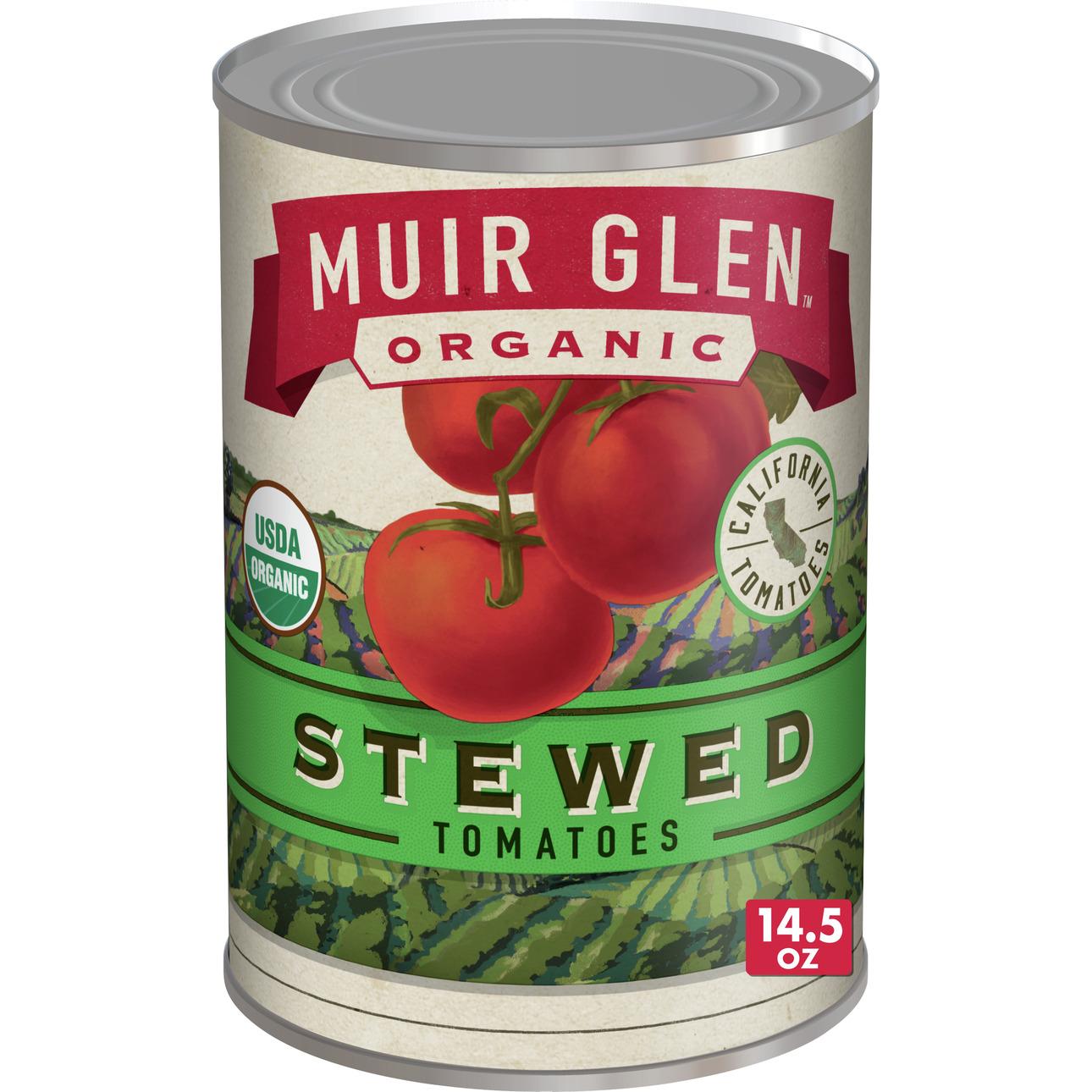 Muir Glen Stewed Tomato (12x145 Oz)