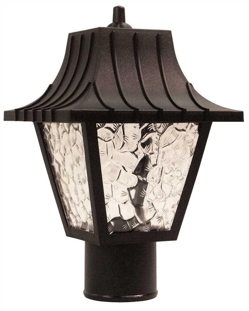 Post Coach Lantern Light Black