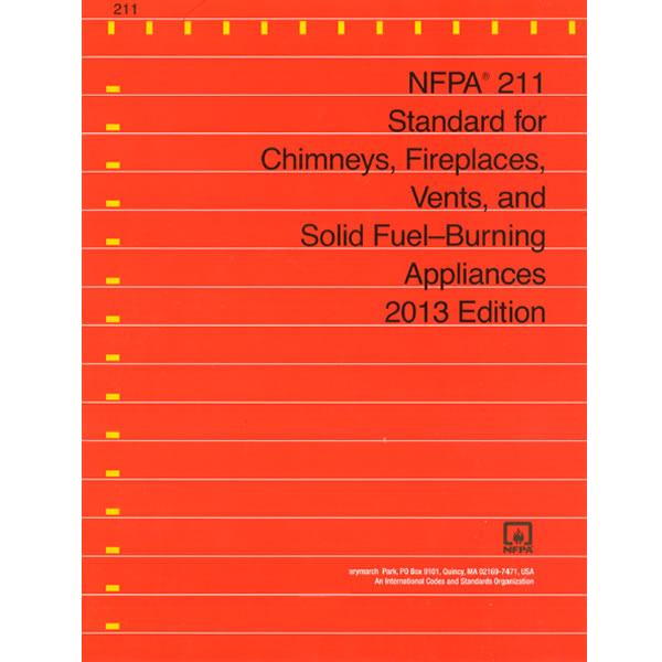 Book, NFPA 211 Chimney Code