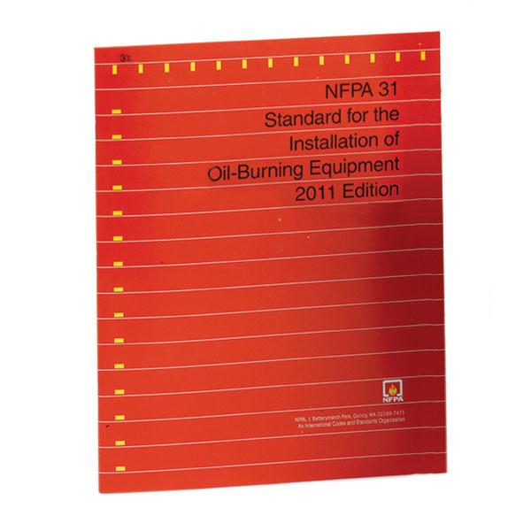 Book, NFPA 31 Oil Code