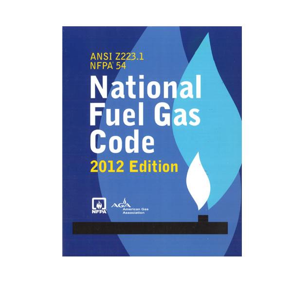 Book, NFPA 54 Gas Code