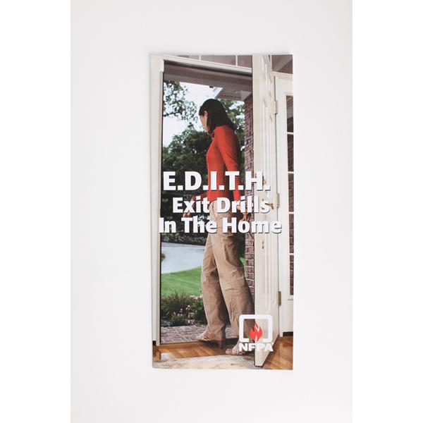 E.D.I.T.H. Fire Escape Plan Flyers, Pack Of 100