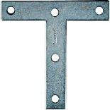 V116 4X4 Zinc T Plate