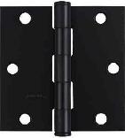 V512 3-1/2 IN. BLACK DOOR HINGE