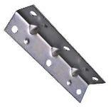 V113 3-1/2 In. Zinc Corner Brace