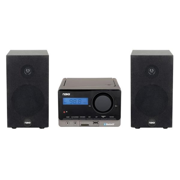 NAXA NS-442 MP3 MICROSYSTEM WITH BLUETOOTH