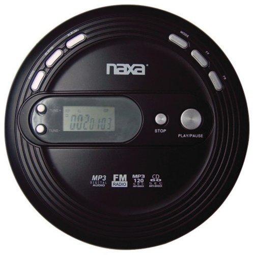 Naxa Slim Personal CD Player With Fm Scan Radio