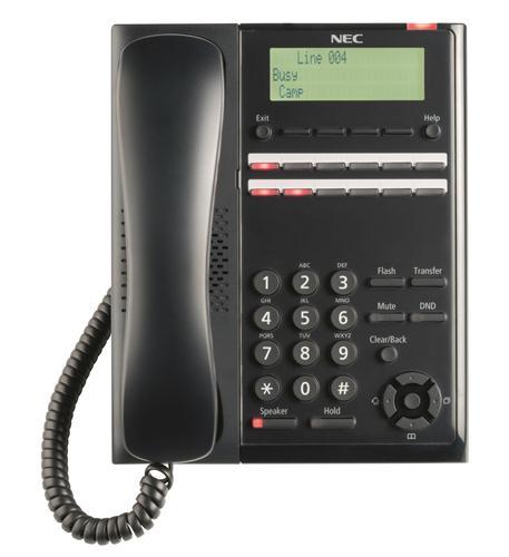 SL2100 Digital 12-Button Telephone (BK)