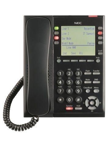 Sl2100 IP Self-Labeling Telephone (BK)