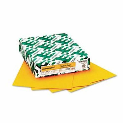 Color Paper, 24lb, 8 1/2 x 11, Galaxy Gold, 500 Sheets