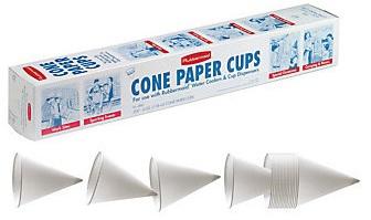 FG2B4112WHT 6OZ CONE PAPER CUP
