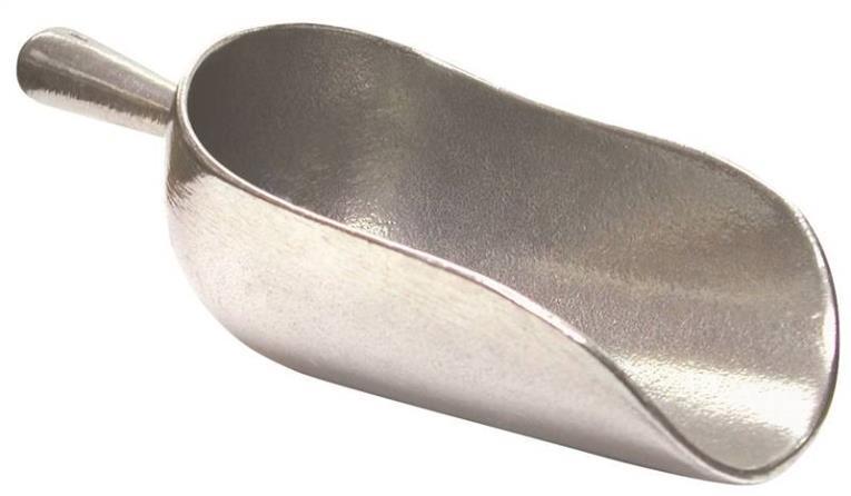 Norpro 9000 Heavy Duty Scoop, 5 oz 1-1/2 in W x 7 in L x 2-1/4 in H, Die-Cast Aluminum