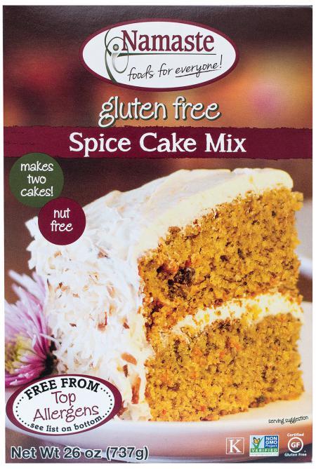 Namaste Spice Cake Mix ( 6x26 Oz)