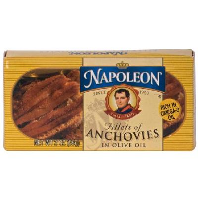Napoleon Co Anchovies Flat (1x2OZ )