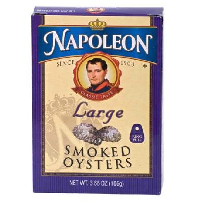Napoleon Co Oysters Smoked (1x366OZ )